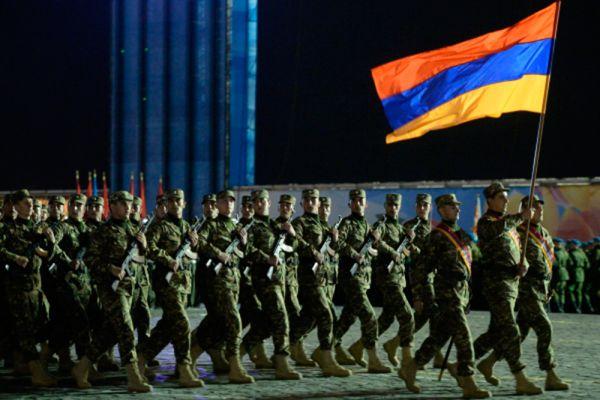 Военнослужащие из Армении.