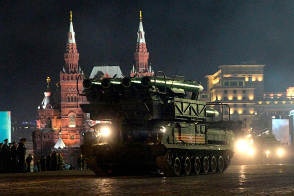 Зенитно-ракетный комплекс «БУК-М2».