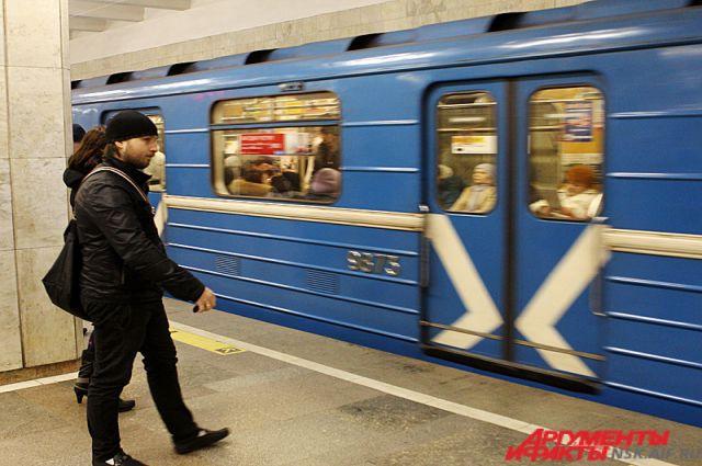 В Новосибирском метро пустили поезд-музей