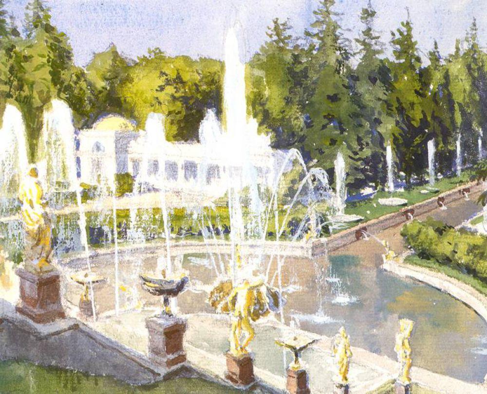 В 1918 году художник  стал заведовать Картинной галереей Эрмитажа и разработал совершенно новый план экспозиции музея.