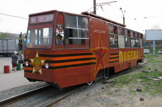 Трамвай Победы во Владивостоке