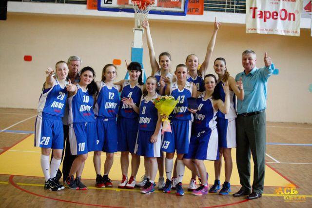 Баскетболистки ДВФУ