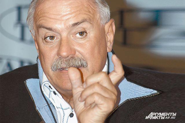 Н. Михалков, кинорежиссёр.