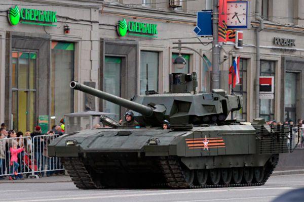 Перспективный танк «Армата» будет оснащен радарами той же технологии, что и у истребителя пятого поколения.