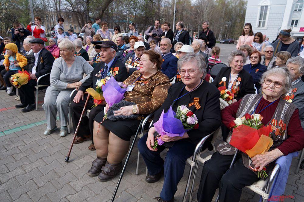 Мероприятие посетили пермские ветераны войны, участники событий тех лет: фронтовики, труженики тыла, дети войны и узники концлагерей.