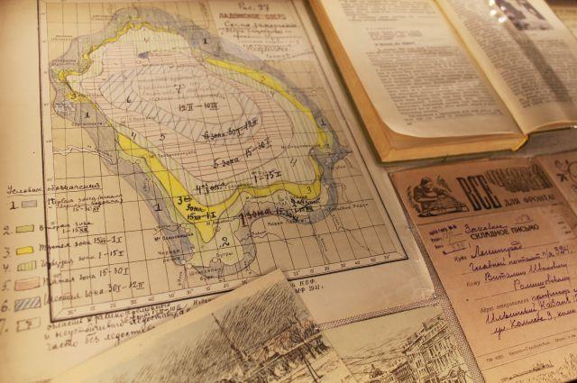 Та самая «Карта обледенения Ладожского озера».