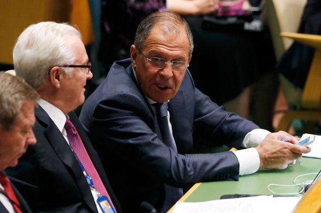 Лавров: Россия не собирается обсуждать условия отмены санкций | В мире | Политика | Аргументы и Факты