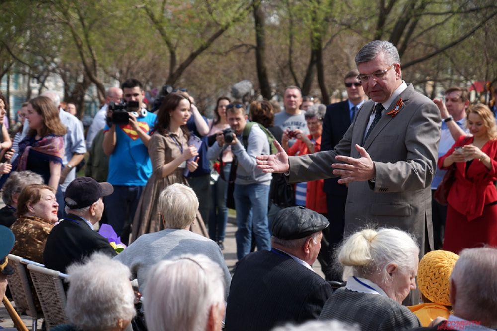 Торжественное открытие посетил мэр Перми Игорь Сапко.