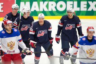 ЧМ по хоккею-2015. Сборная России и сборная США.