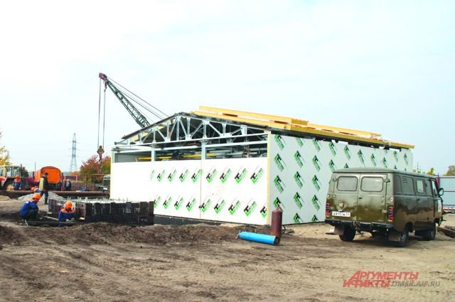 Котельную в посёлке Степной построили в кратчайшие сроки.