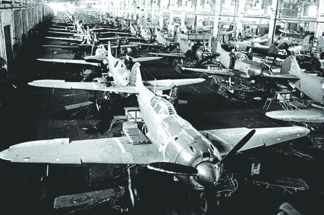 Лучшие боевые самолёты собирались в Омске.