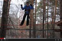 Верёвочный парк будет работать в парке 30-летия ВЛКСМ.