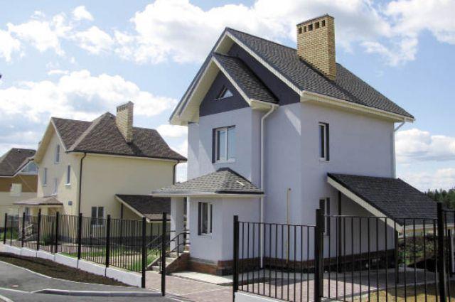 Дома, сделанные из газобетона, - морозостойкие и экологичные.