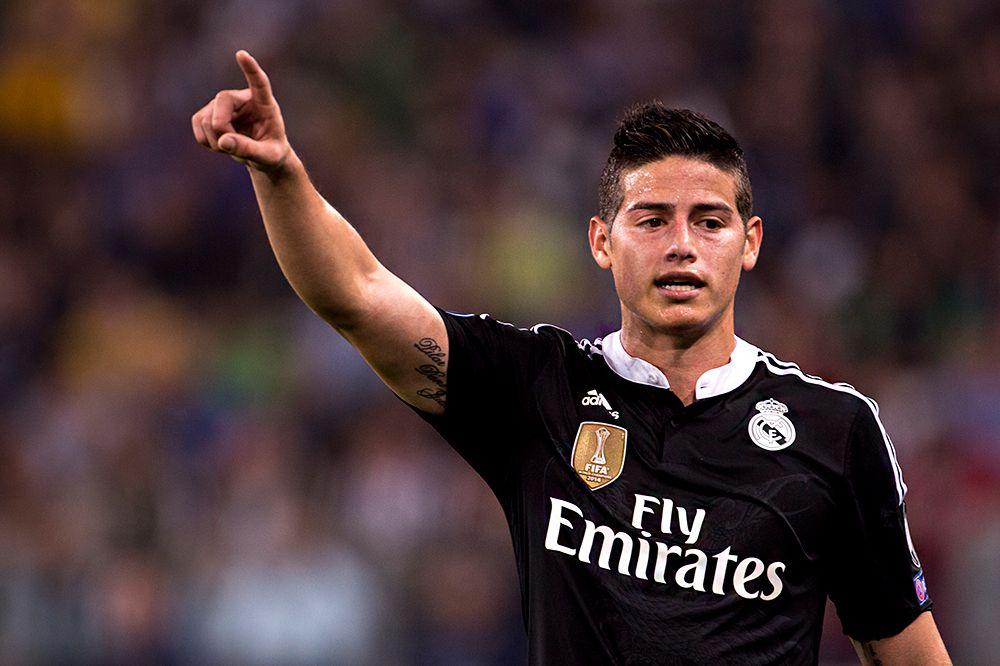 Полузащитник «Реала» Хамес Родригес заработал, по оценке Forbes, $25,4 млн, из которых $4 млн — на рекламе.