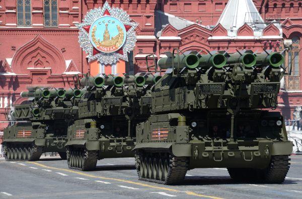 Зенитно-ракетные комплексы «БУК-М2».