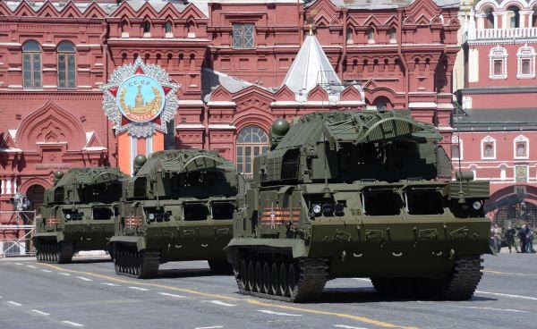 Всепогодные тактические зенитные ракетные комплексы «ТОР-М2У».