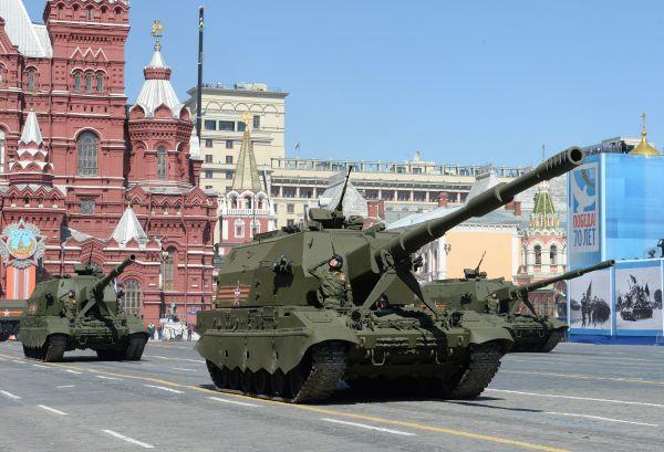 Самоходные артиллерийские установки (САУ) «Коалиция-СВ».