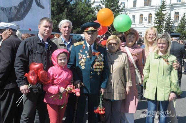 9 мая омичи поздравят ветеранов с юбилеем Победы.