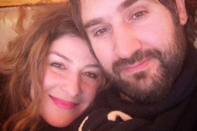 Жанна Бадоева с мужем Василием