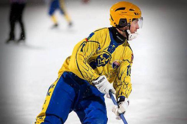 Николай Мельников в форме прежней команды