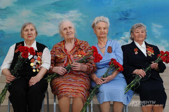 Героями праздника стали четыре женщины.