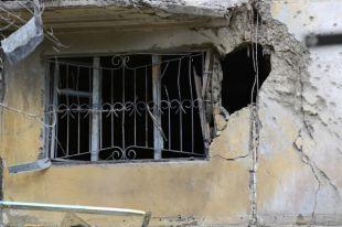 Жилой доме в Краматорске, разрушенный в результате обстрела украинскими силовиками.