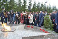 В парке Победы появился новый мемориал.