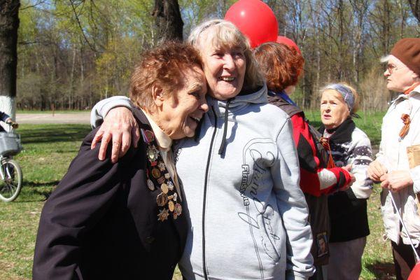 Серафима Шахова и Валентина Юдина, учитель и ученица, встретились спустя много лет