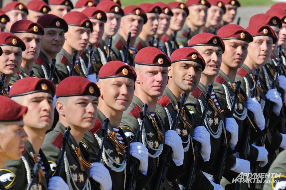 7 мая. Генеральная репетиция Парада Победы в Москве.