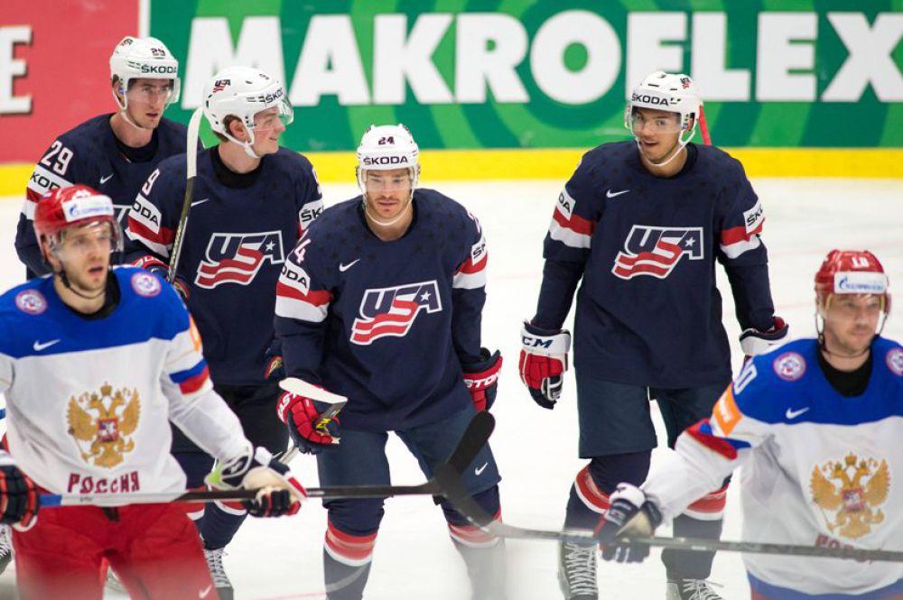 4 мая. Российская сборная проиграла команде США в матче группового турнира чемпионата мира по хоккею.
