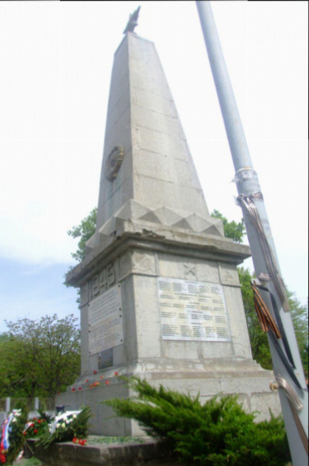 Памятник советским воинам, погибшим во вторую мировую. Город Кечкемет.