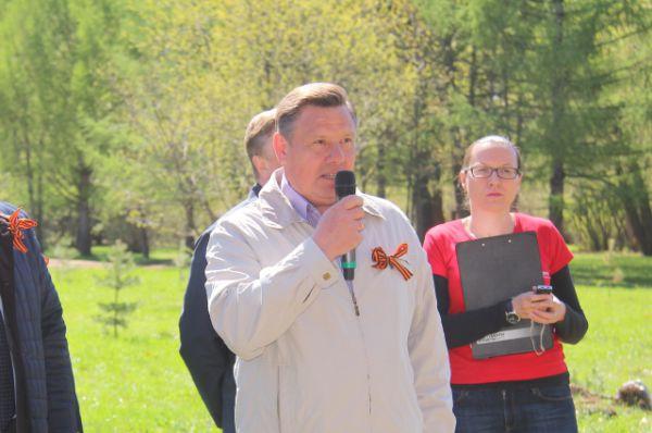 Директор МП «Автозаводский парк» Борис Крохин поприветствовал участников акции