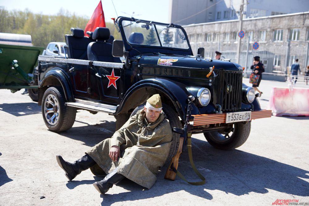 В Перми выбрали лучший дизайн автомобиля в военной стилистике.