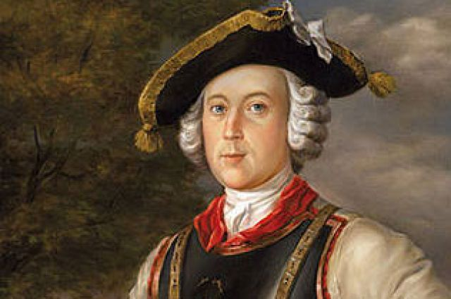 Карл Фридрих Иероним фон Мюнхгаузен. Г. Брукнер, 1752 год.