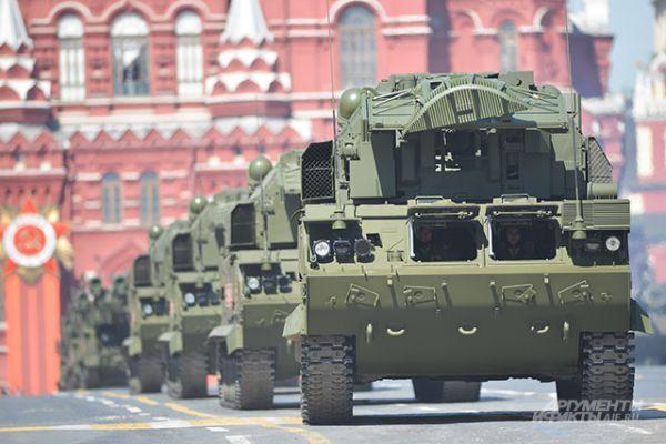 Всепогодный тактический зенитный ракетный комплекс «ТОР-М2У».