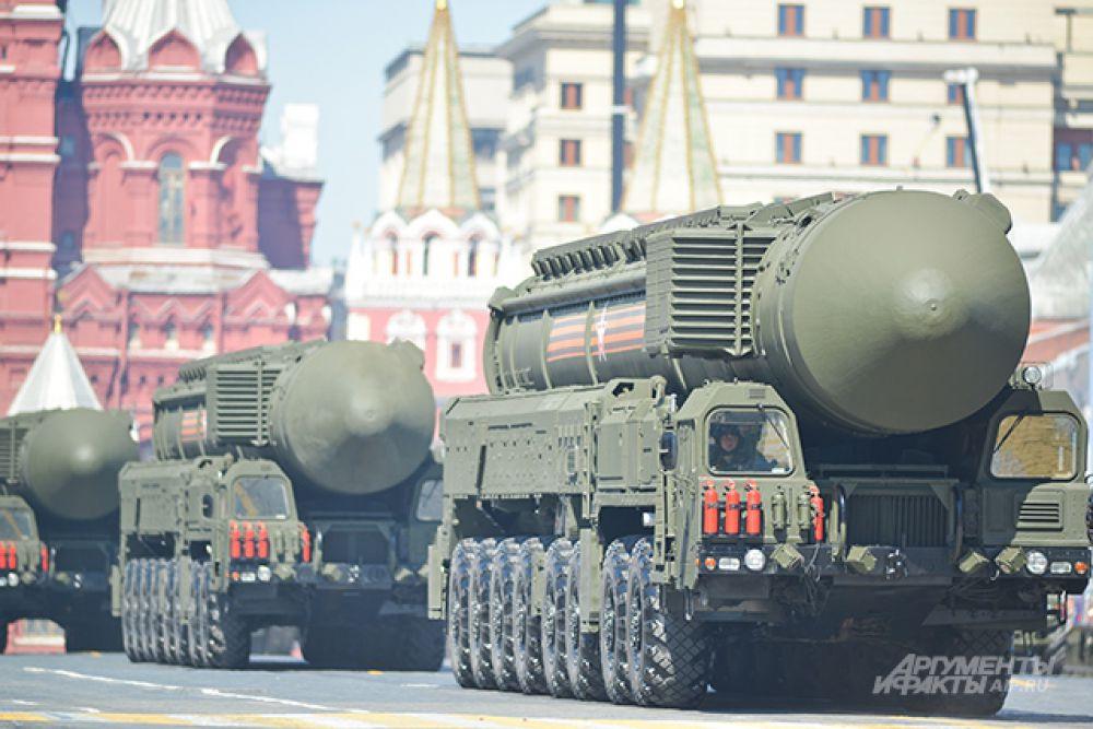 Транспортно-пусковой контейнер комплекса РС-24 «Ярс».