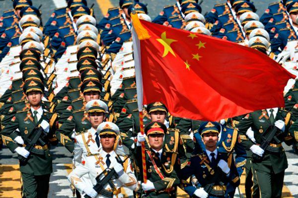 Военнослужащие Народно-освободительной армии Китая.