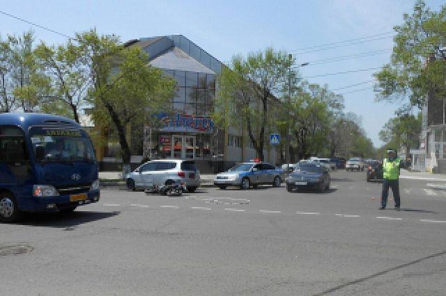 На Чернышевского насмерть разбился мотоциклист
