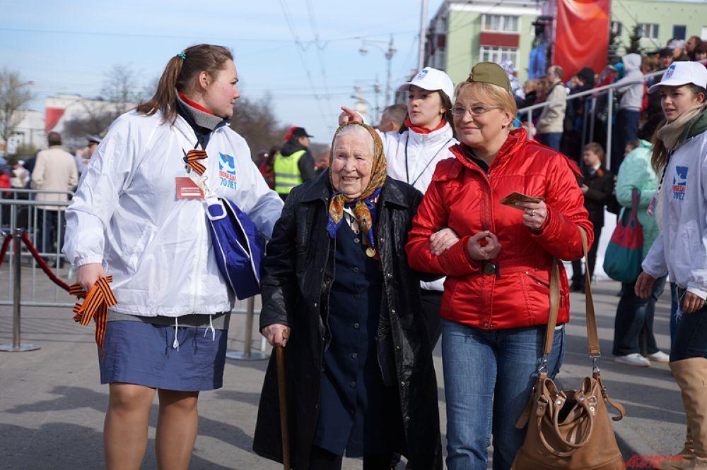 В Перми состоялся парад в честь 70-летия Победы в Великой Отечественной войне.