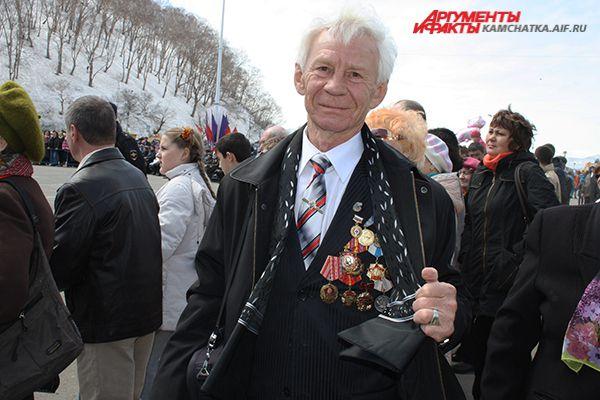 Камчатский поэт Чуйков Александр Николаевич.