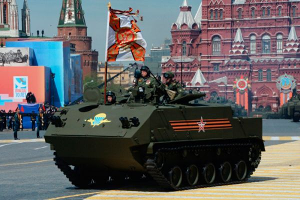 Десантируемый бронетранспортер БТР-МДМ «Ракушка».