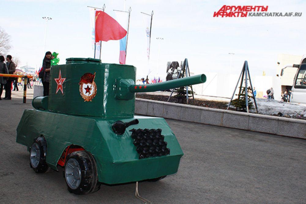 Маленький танк.