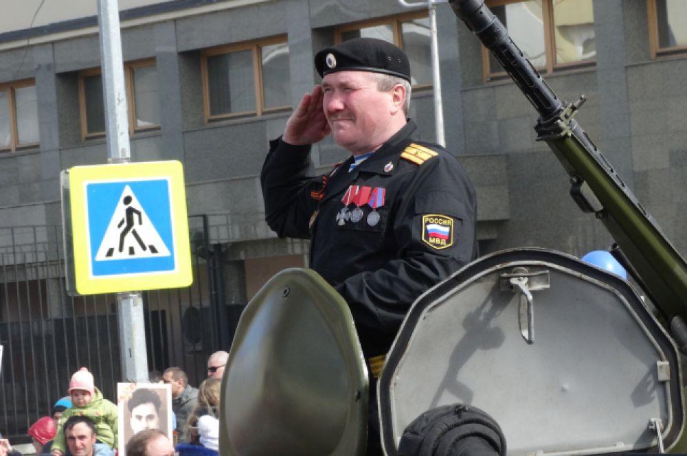 Командир современной боевой машины.