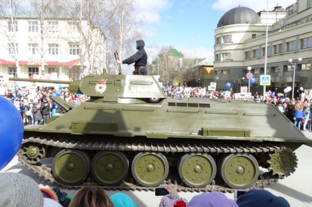 Легендарный танк Т-34.