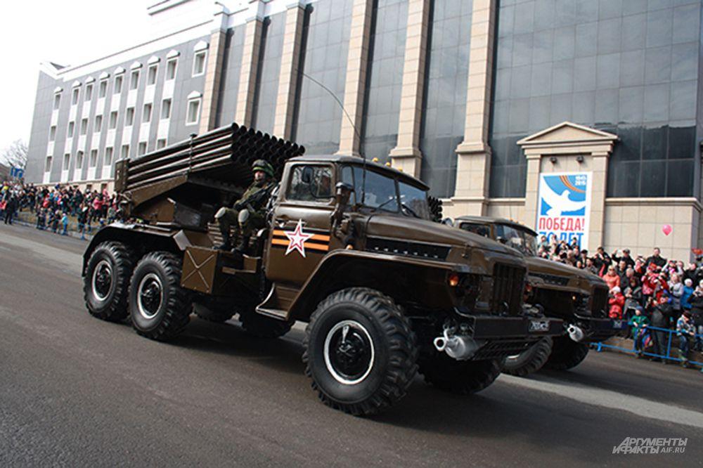 Парад Победы на Камчатке.
