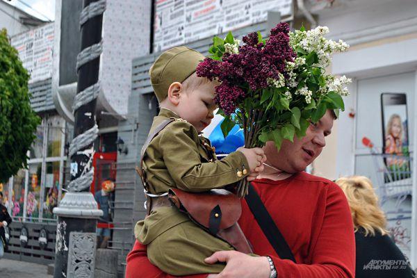 Парад Победы в Крыму.