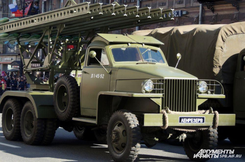 """Миномет """"Катюша"""" стал героем популярной военной песни."""