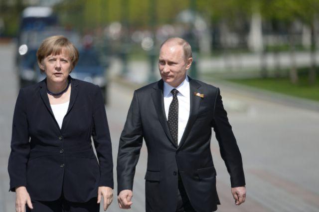 Путин нацелен на скорейшее решение проблем между Россией и Германией | В мире | Политика | Аргументы и Факты