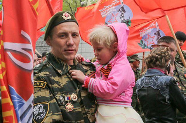 На Параде Победы у «Боевого братства» есть своя колонна.