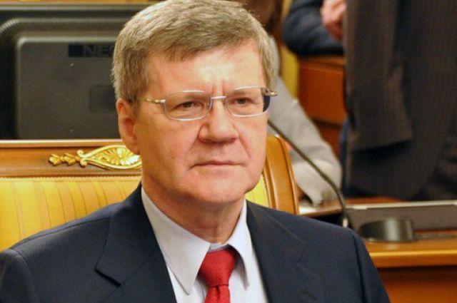 Ю. Чайка, генеральный прокурор.